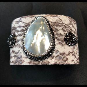 Jewelry - Faux python cuff.